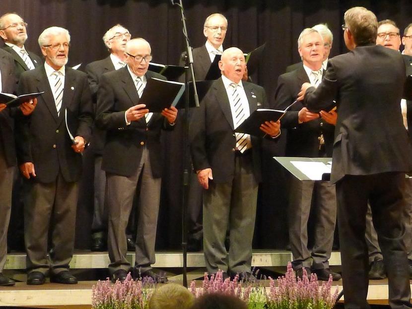 Männerchor Nenzing in Konzert