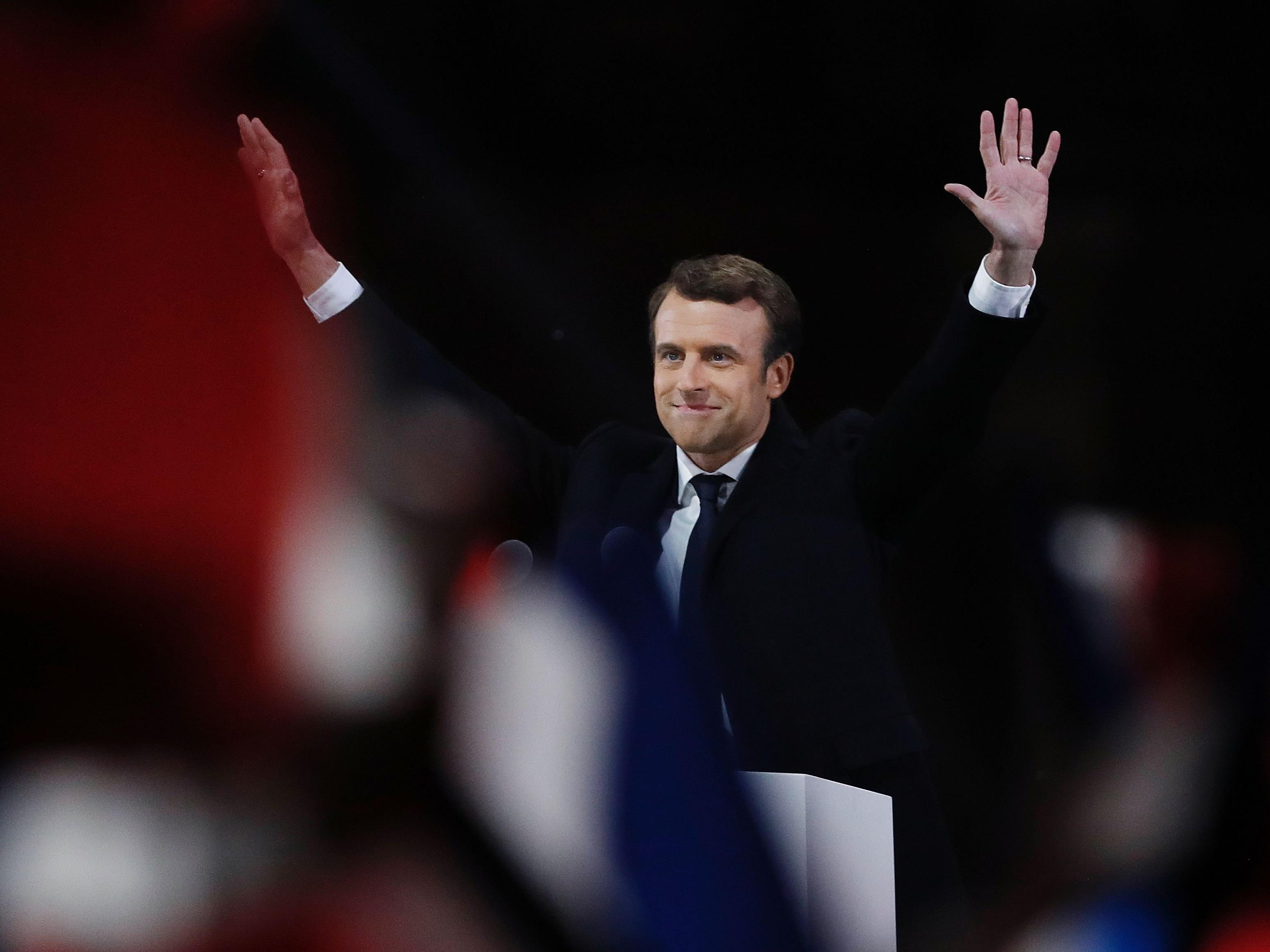 Der neugewählte französische Präsident, Emmanuel Macron, will die Franzosen wieder einen.