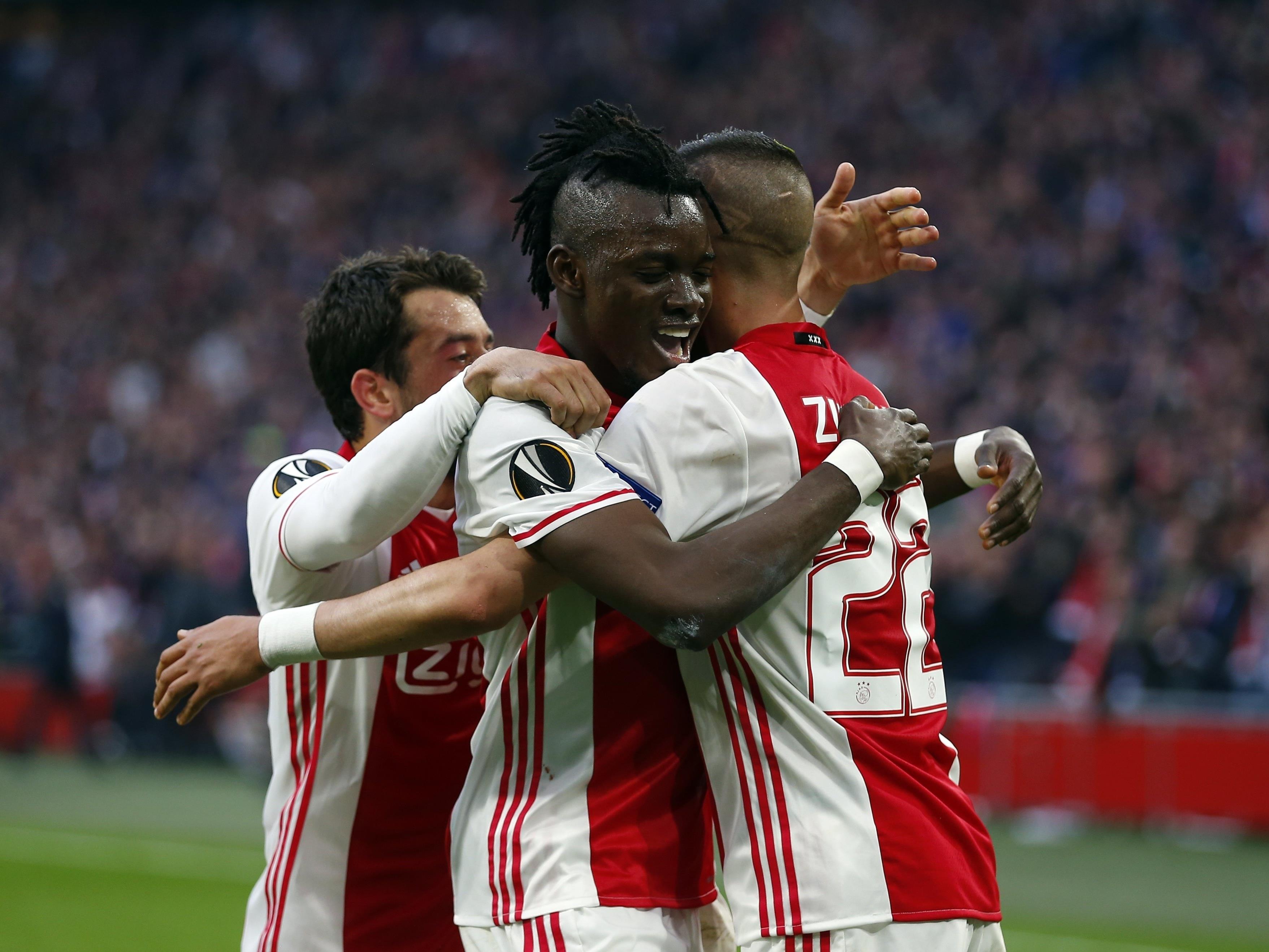 Ajax Amsterdam durfte heute gleich viermal jubeln.