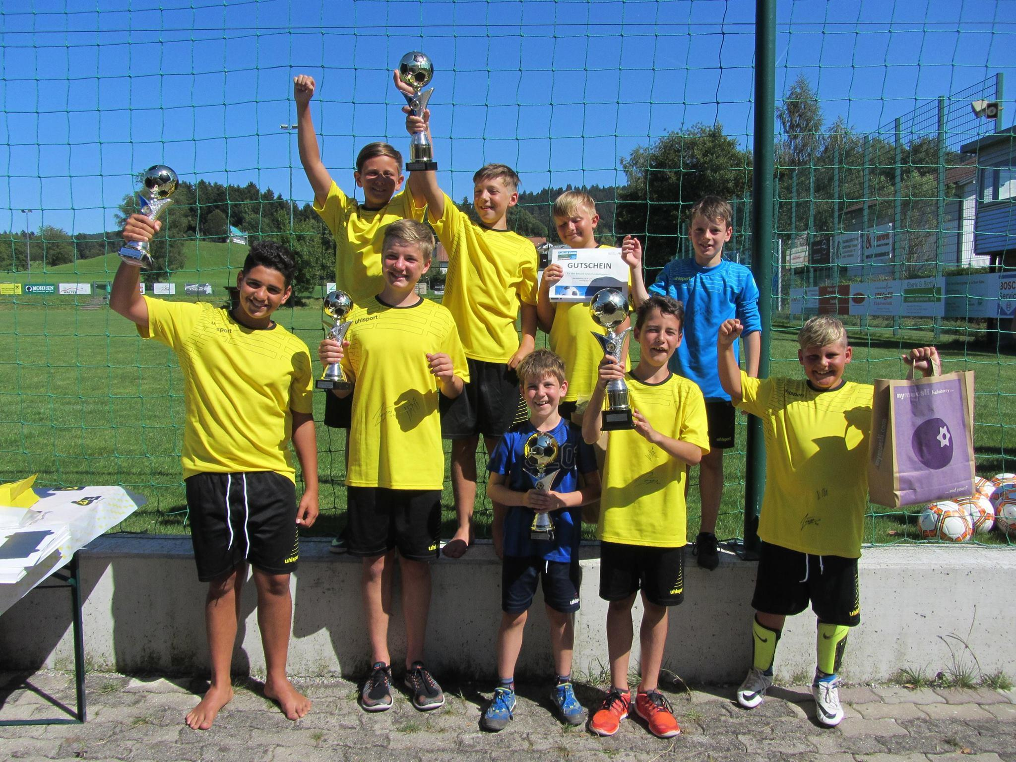 Fußballcamp 2016, Sieger