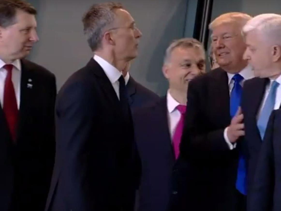 Trump bahnt sich seinen Weg.