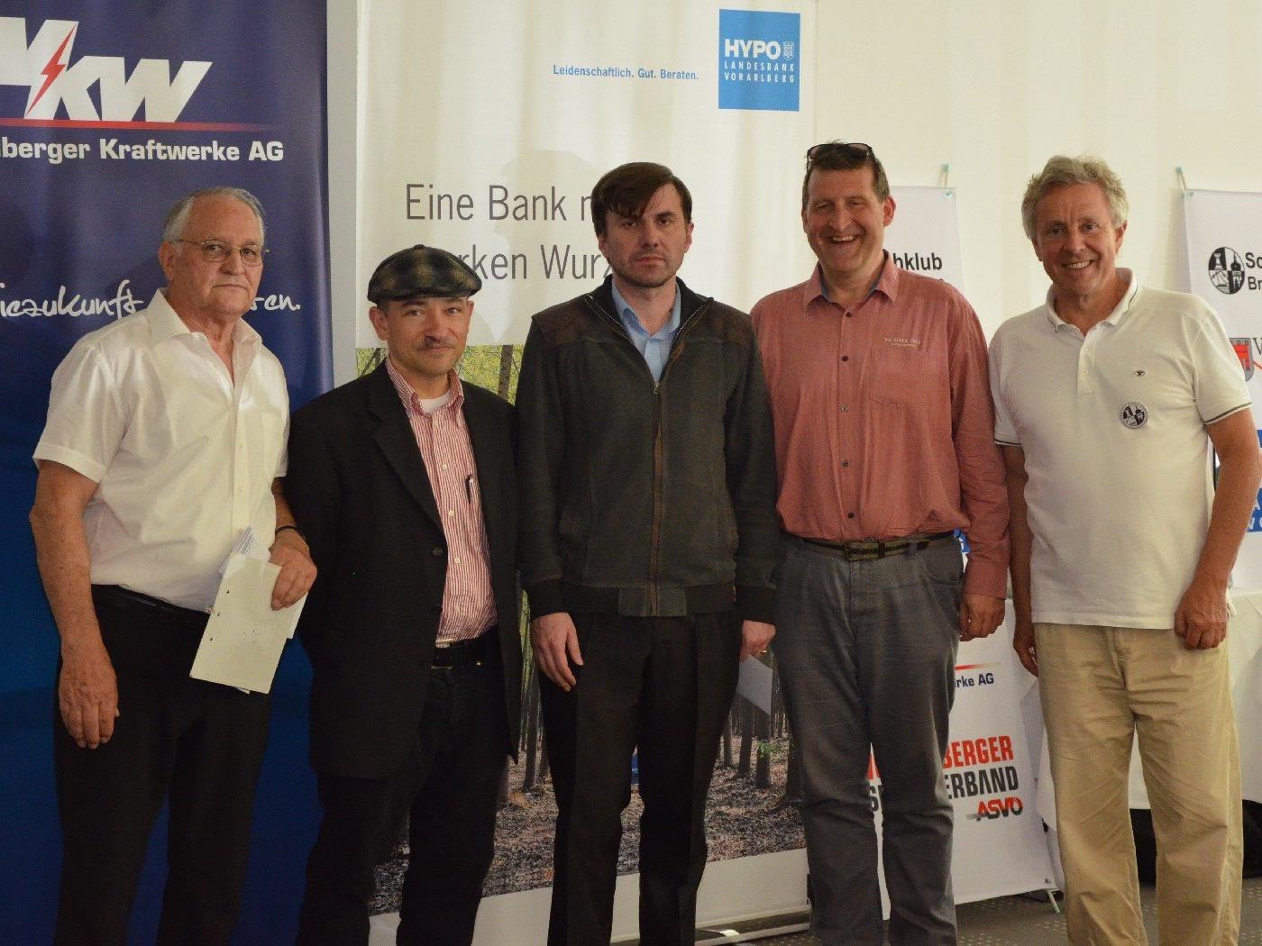 Die Sieger beim 3. Int. Bodensee-Schachopen in Bregenz