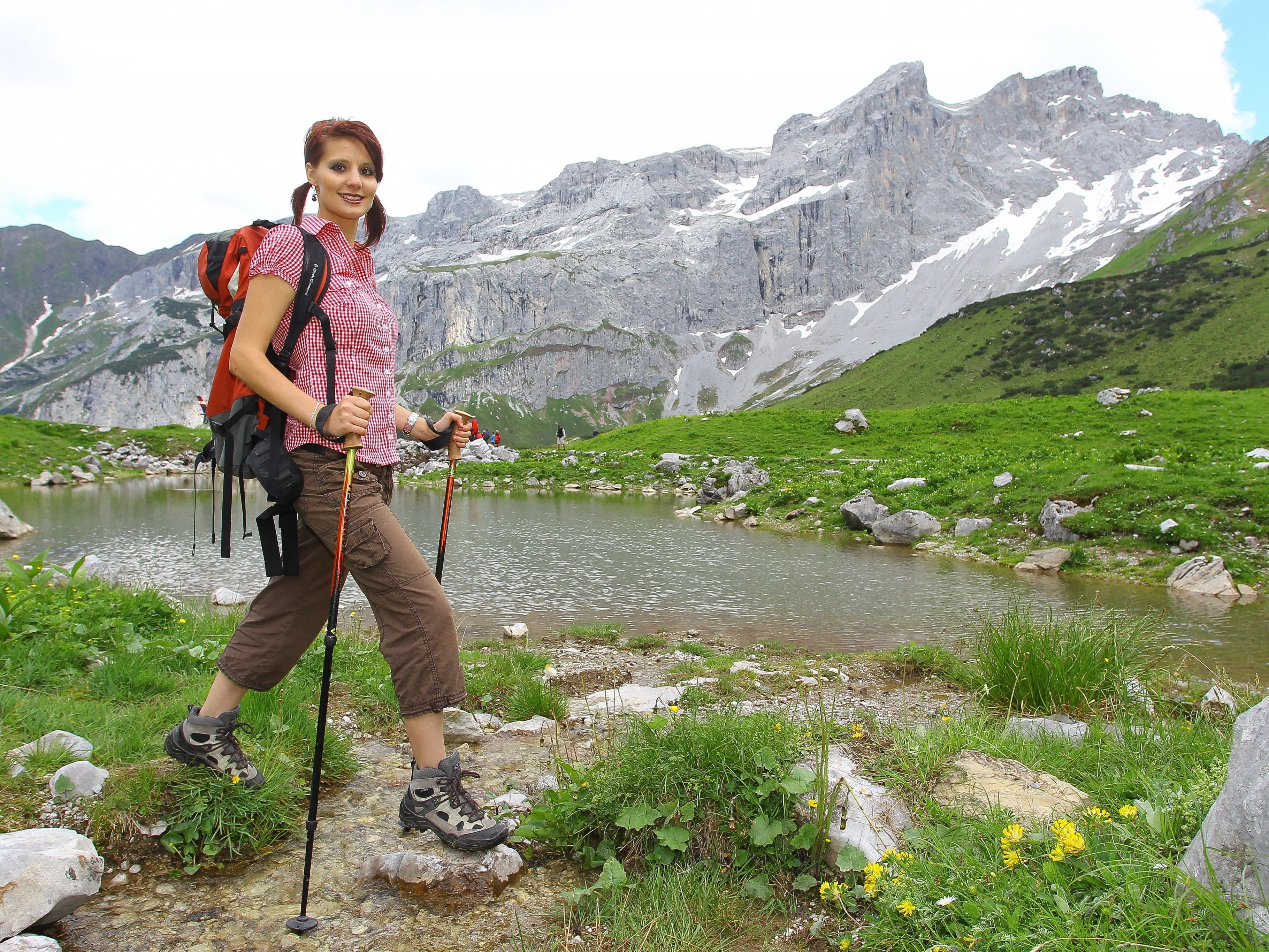 Auch im Sommer zählen die heimischen Berge als Erholungsort.