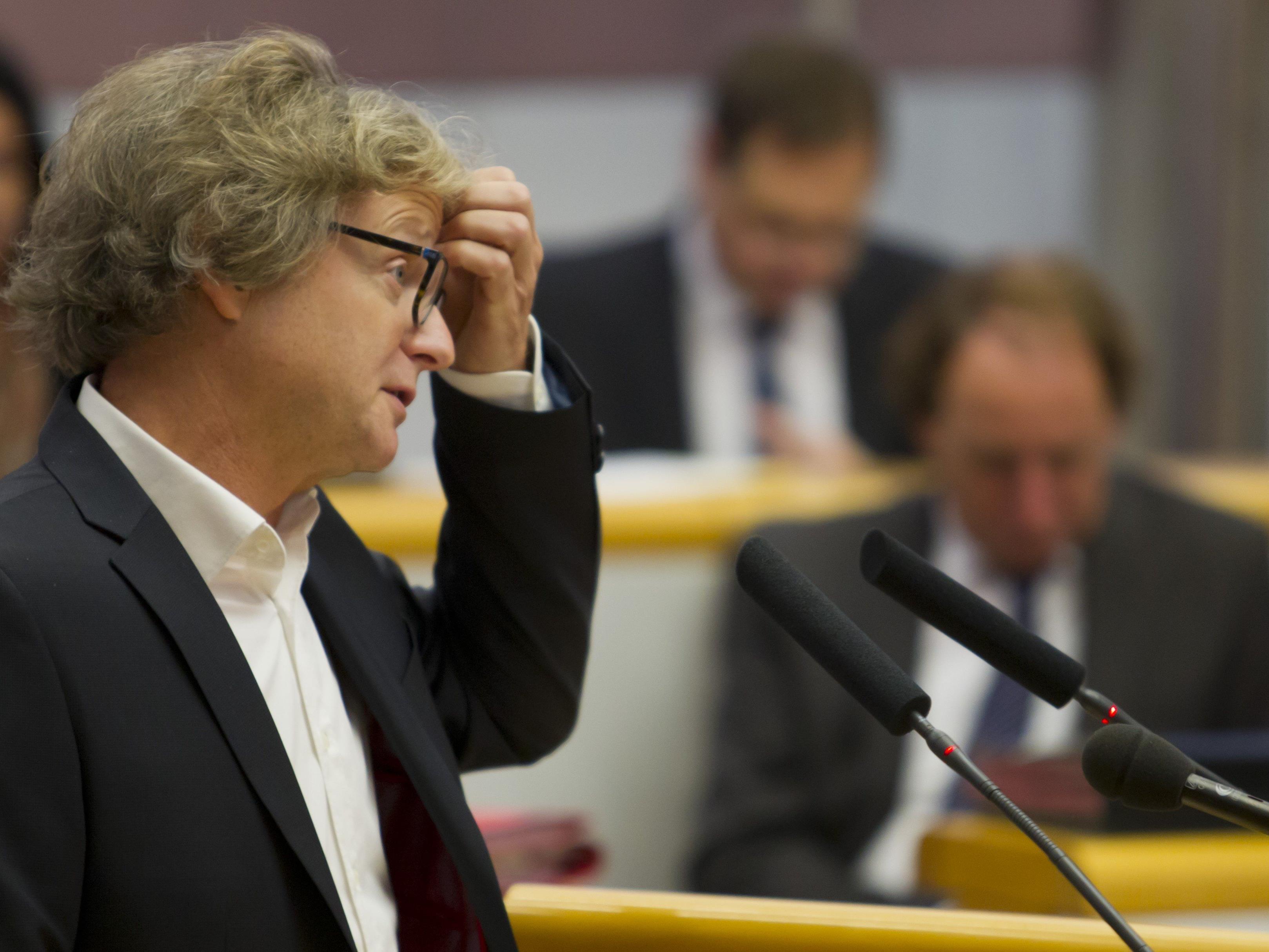 Grünen-Klubobmann Adi Gross zeigt sich besorgt ob der Entwicklung rechtsextremer Straftaten in Vorarlberg.