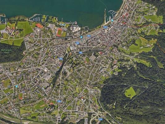 Arbeitsunfall in Bregenz.