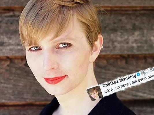 Die von Ex-US-Präsident begnadigte Whistleblowerin Chelsea Manning hat eine erstes Porträt nach ihrer Haftentlassung gepostet.