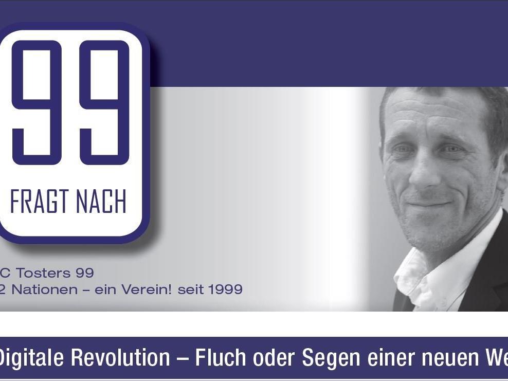 Speaker Klaus Kobler referiert das Thema Digitalisierung.