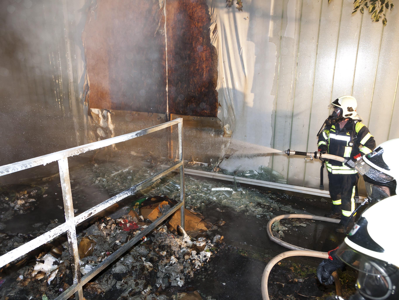 Brandserie hielt Feuerwehr auf Trab.
