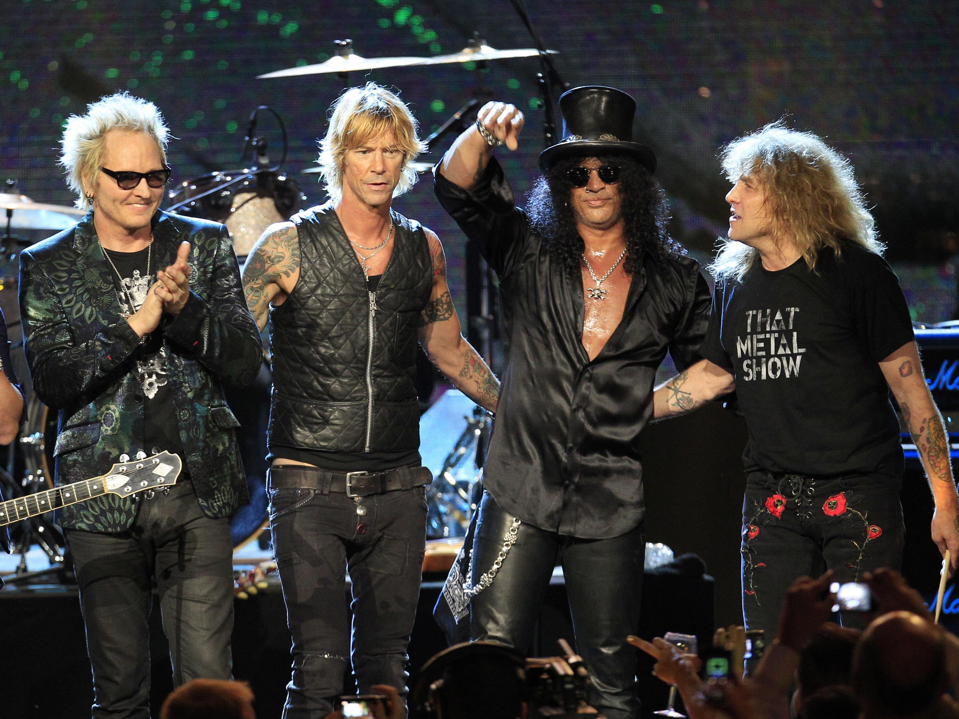 Am 7. Juni gastieren Guns n' Roses in Zürich