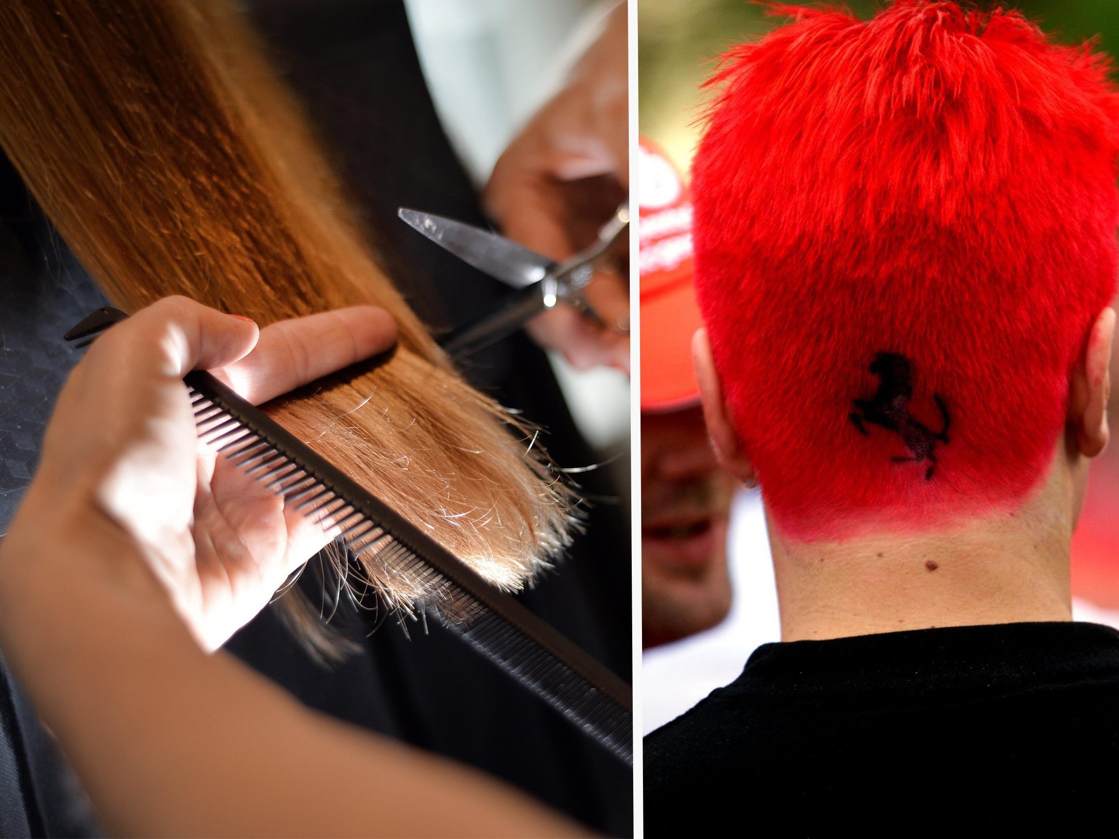 Wie wäre es mit einer ganz ausgefallenen Frisur?