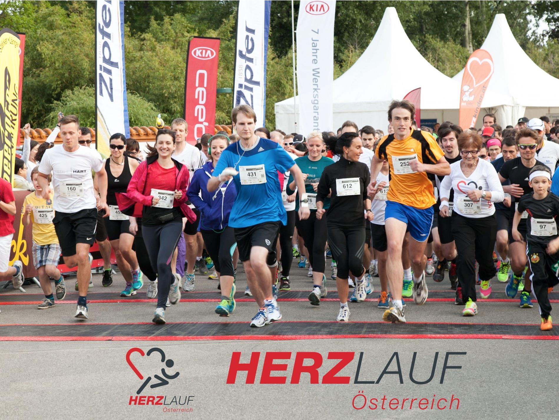 Der Startschuss für den Hauptlauf des Herzlaufs in Wien fällt am 4. Mai um 18.30 Uhr im Donaupark.