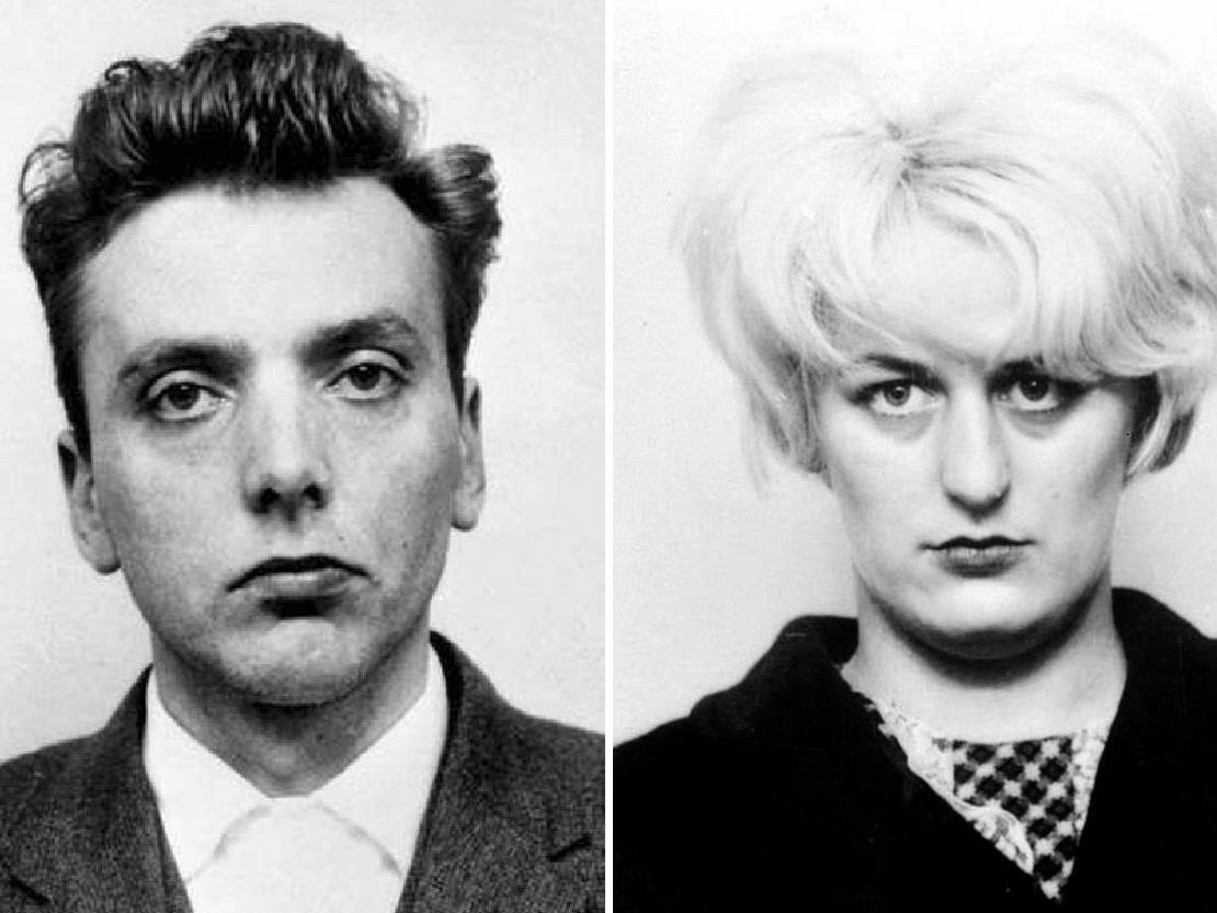Mörder Paar Ian Brady und Myra Hindley
