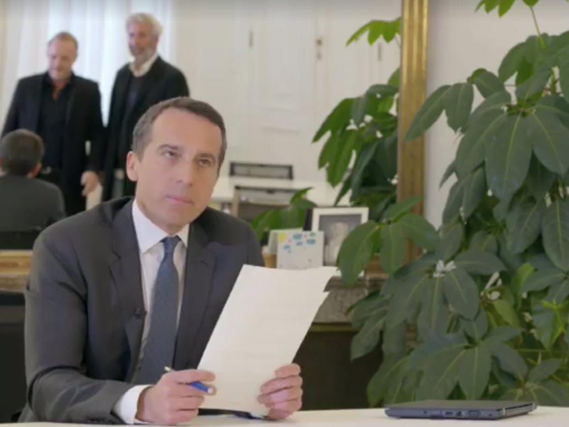 """Auftritt bei """"Willkommen Österreich""""."""