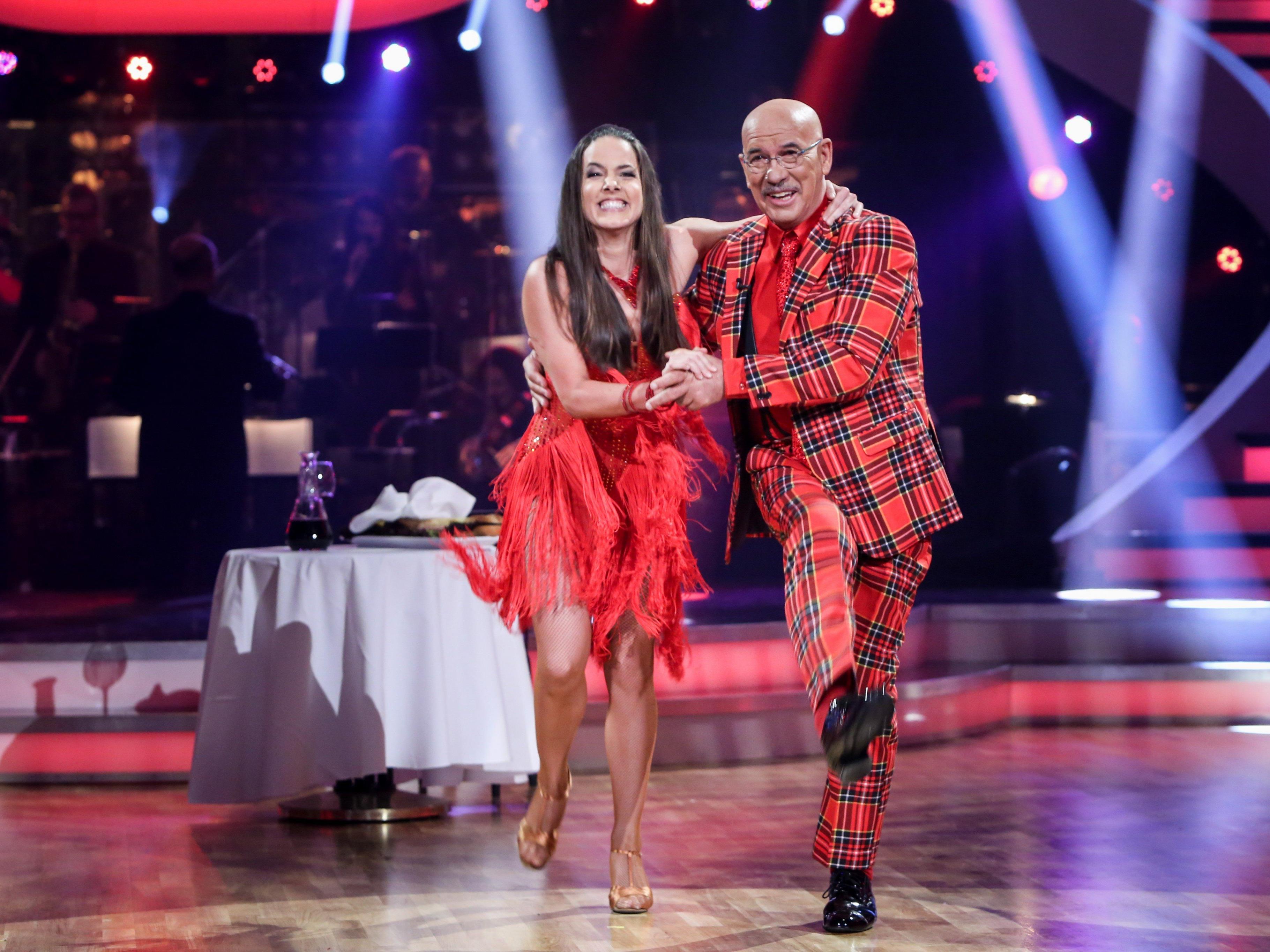 Bei der siebten Liveshow der Dancing Stars musste diesmal kein Paar raus.