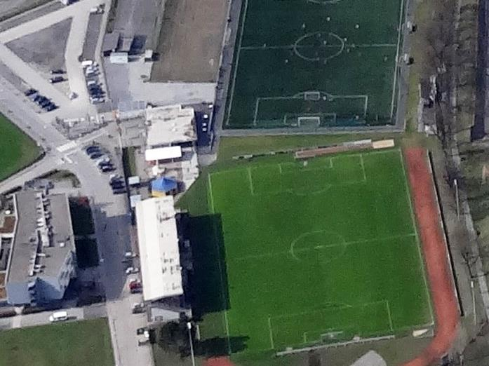 Hier wird die neue Leichtathletik Schul- und Trainingsanlage entstehen.