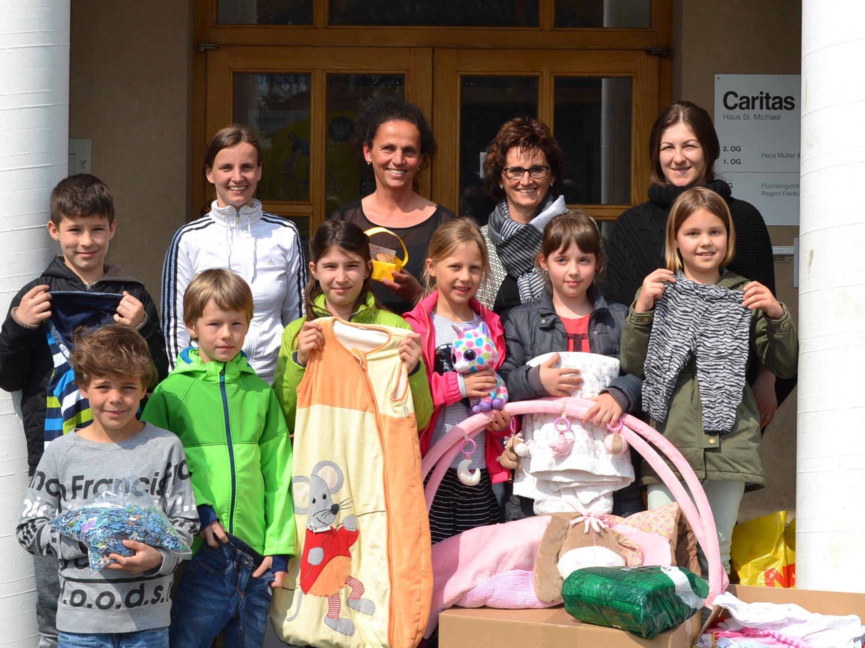 Beeindruckendes Engagement der LernART-Kinder