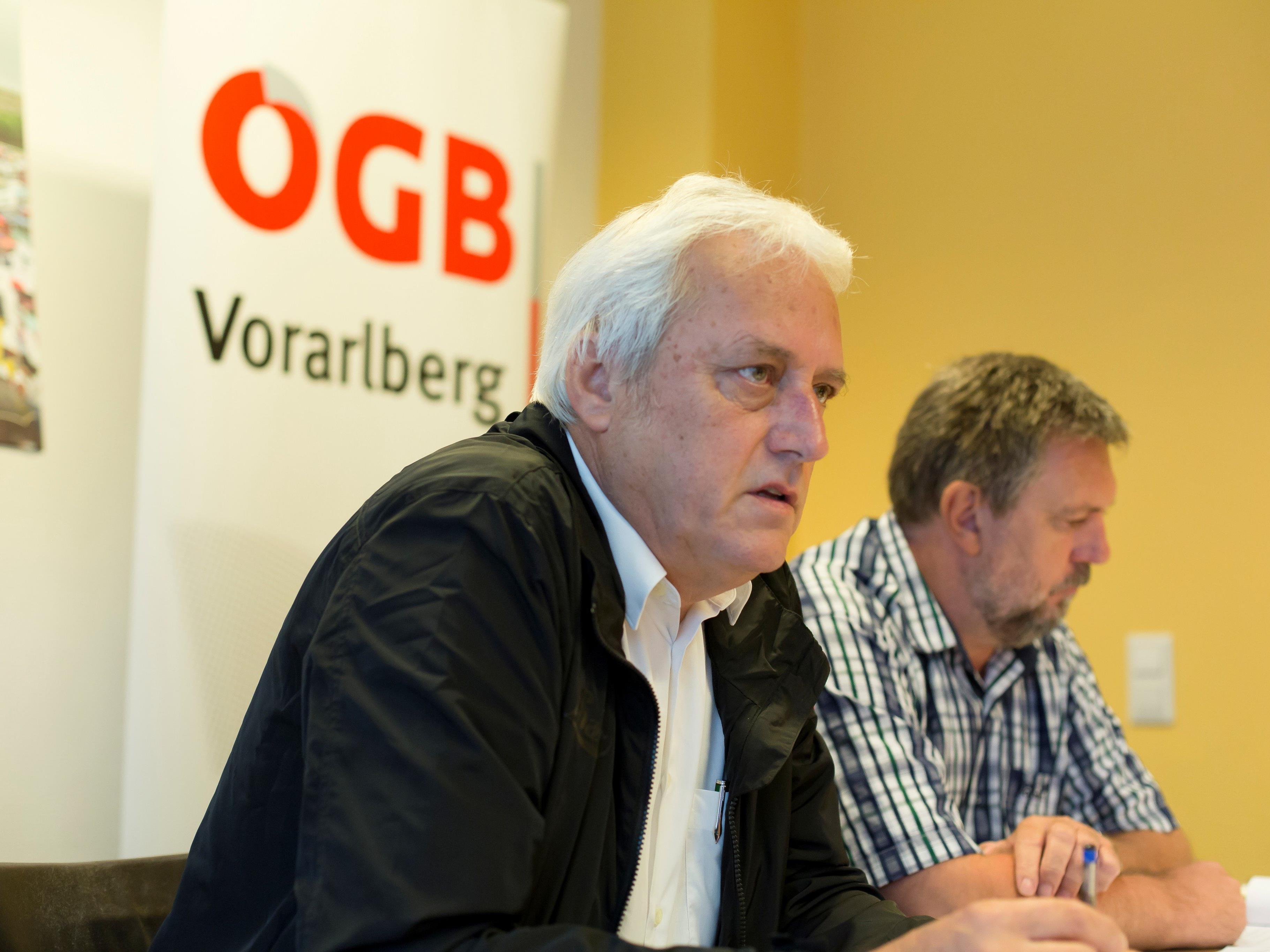 Norbert Loacker wurde auf der Landeskonferenz des ÖGB erneut zum Vorarlberger Landesvorsitzenden des Gewerkschaftsbundes gewählt.