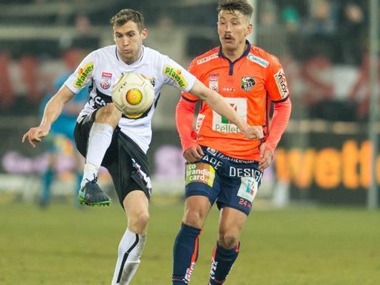 Altach-Spieler Lukas Jäger (l.) wechselt zum 1. FC Nürnberg.