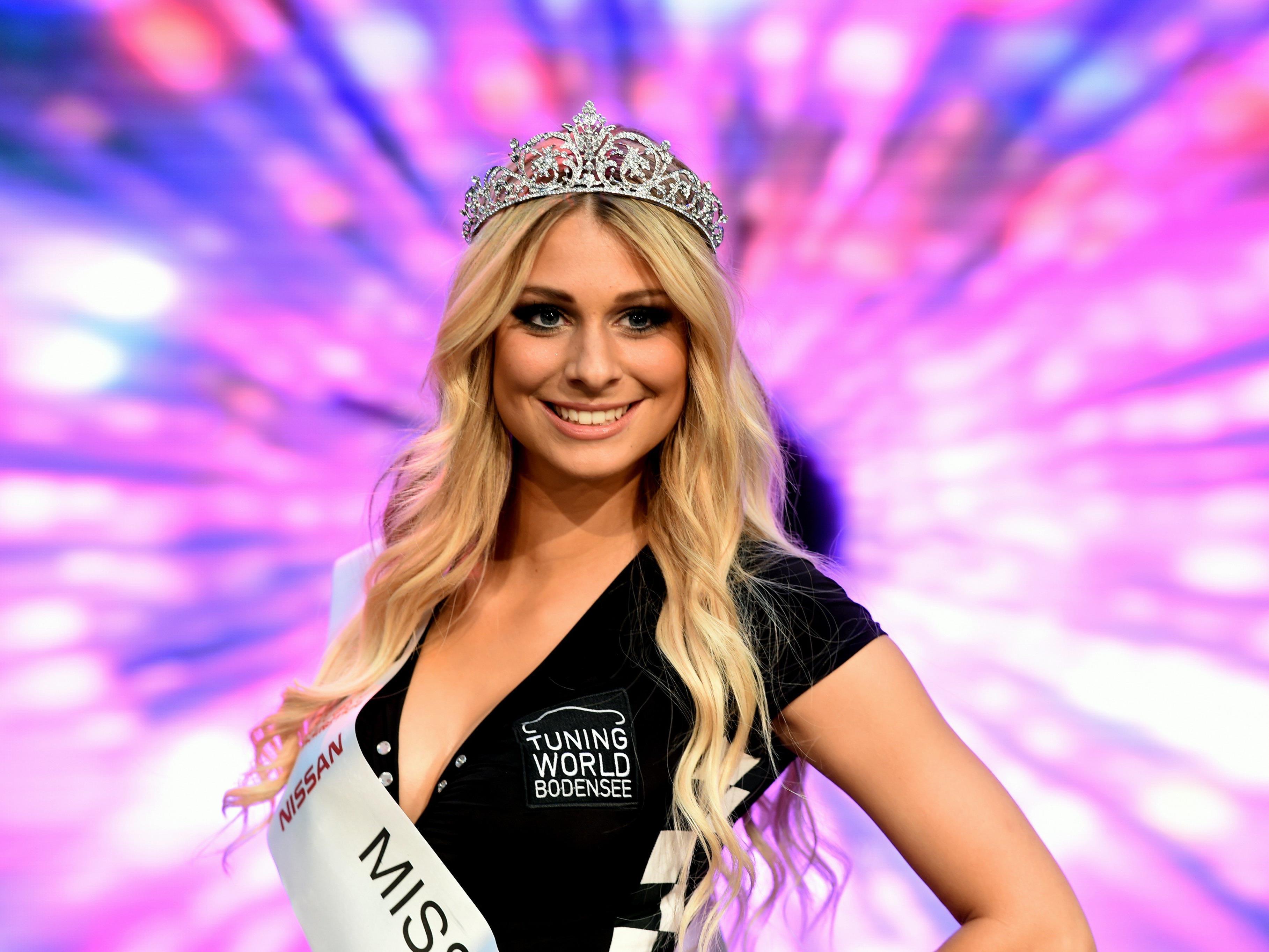 Vanessa Schmitt aus Bruchsal ist die Miss Tuning 2017.