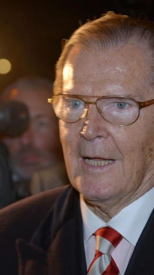 """Roger Moore wurde vor allem als """"James Bond"""" bekannt"""