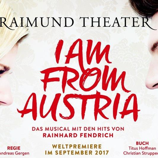 """I am from Austria"" startet im September in Wien."
