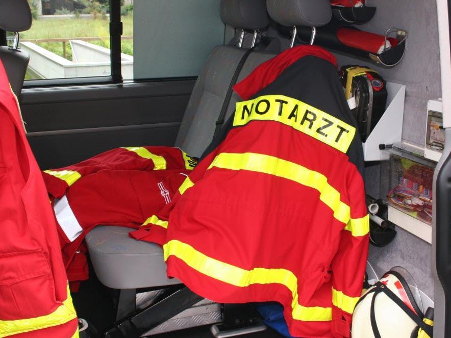 Bub wurde mit Verletzungen unbestimmten Grades ins LKH Bregenz eingeliefert