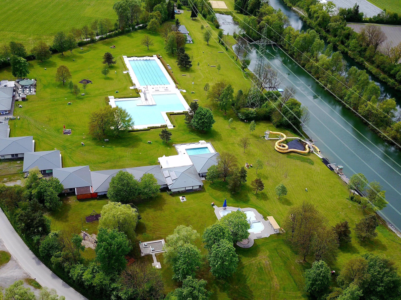 Bis zu 8000 Besucher werden im Erholungszentrum Rheinauen an den Spitzenwochenenden täglich (!) erwartet.