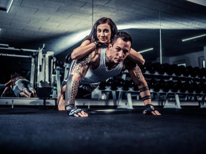 Zusammen trainieren motiviert und macht Spaß