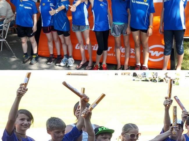 Beide ULC-Staffeln freuen sich über den Sieg in der Mösle-Staffel-Challenge