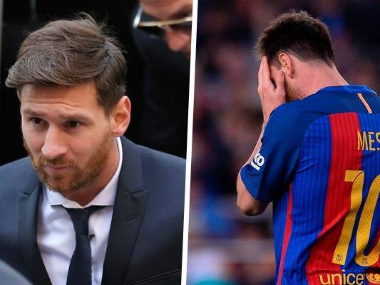Lionel Messi wurde zu 21 Monaten Haft verurteilt. Dass er wirklich ins Gefängnis muss, gilt als unwahrscheinlich.