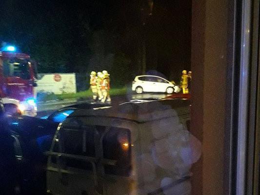 Drei Fahrzeuge mit insgesamt sieben Insassen waren in Lustenau in einen von einem alkoholisierten Lenker verursachten Unfall verwickelt.