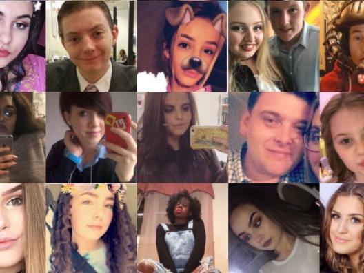 Diese Kinder werden nach der Massenpanik in der Manchester Arena vermisst.