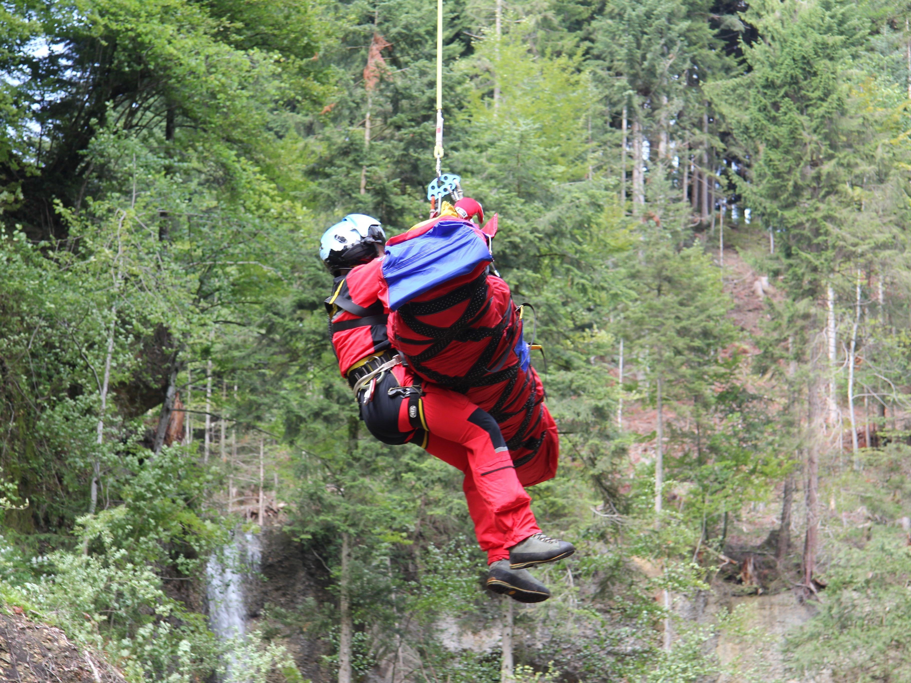 1.800 Einsätze hatten die Bergretter in Vorarlberg 2016 zu bewältigen.