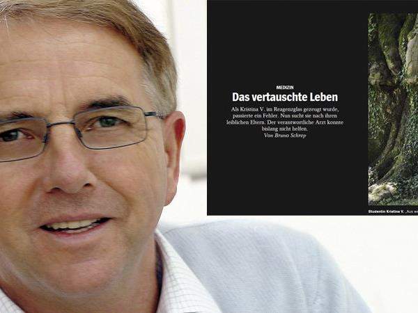 Der Bregenzer Reproduktionsmediziner Prof. Zech fühlt sich von der Familie von Kristina V. erpresst.