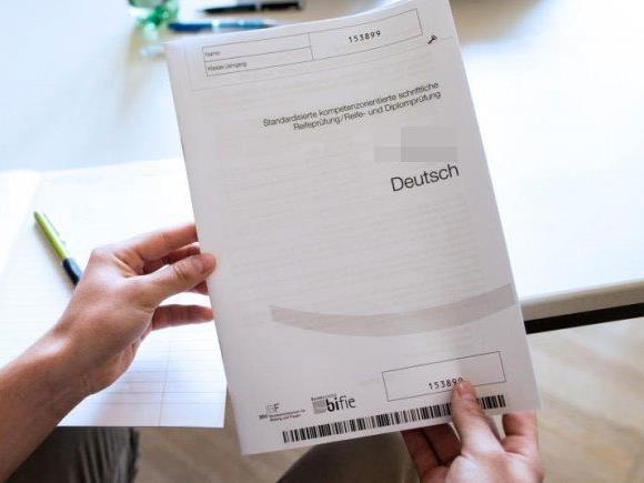 Zentralmatura startet mit Deutsch-Klausuren