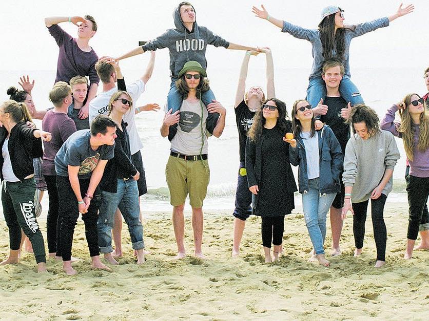 """35 Jugendliche haben sich im Rahmen des """"Ziellos""""-Projekts auf den Weg ins Ungewisse gemacht."""