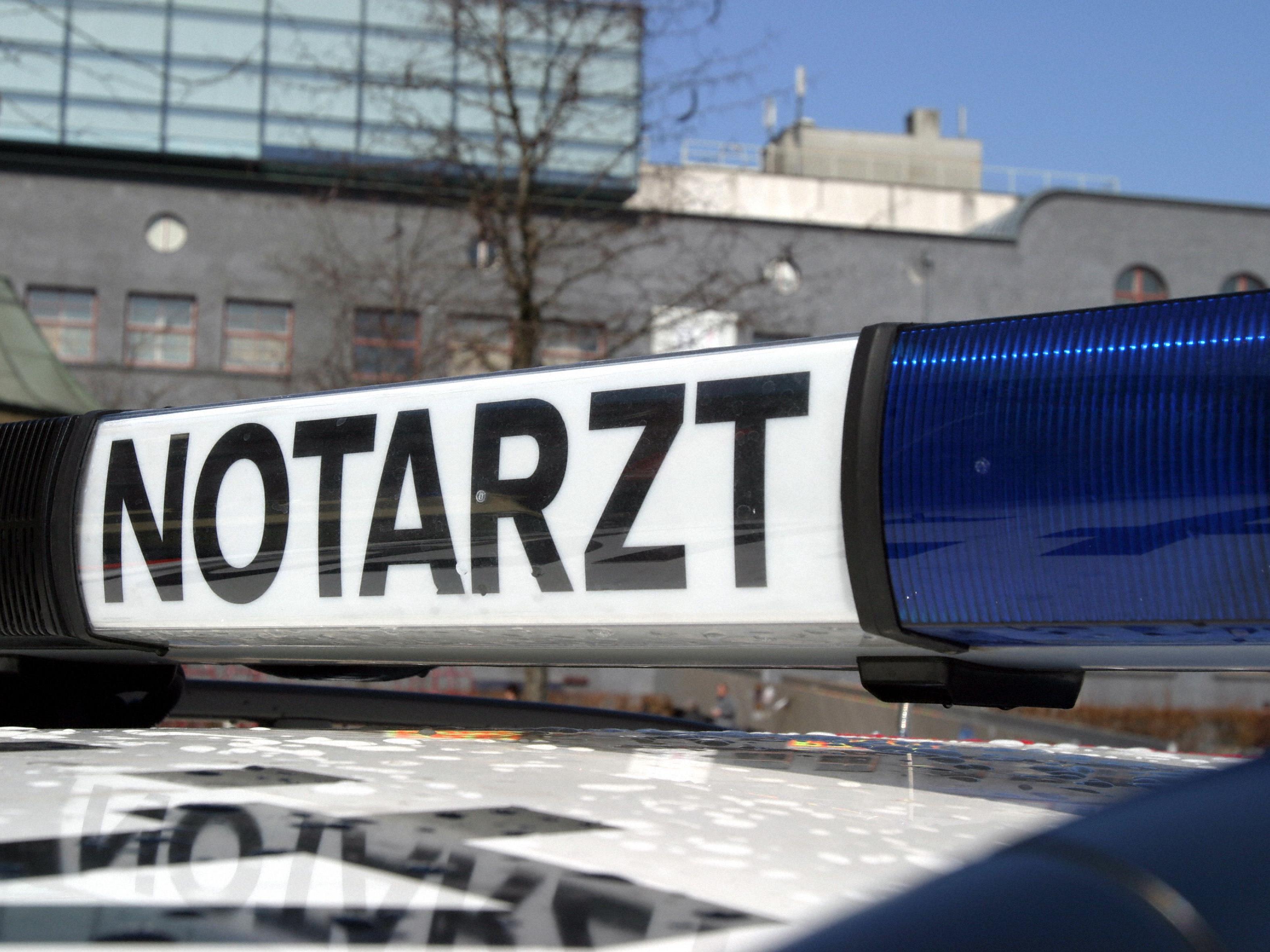 58-Jährige wurde verletzt ins LKH Feldkirch geflogen.