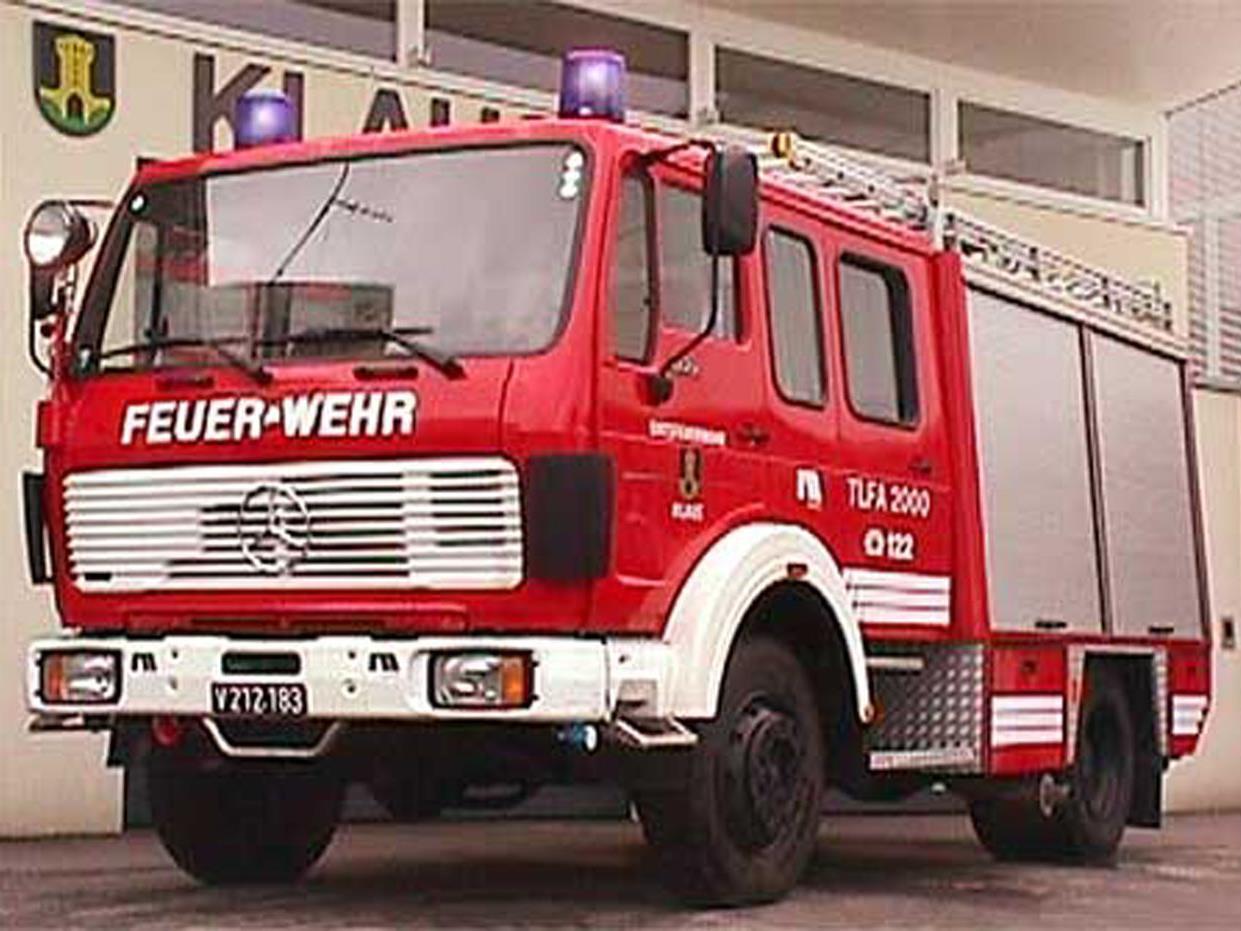 Nach über 30 Jahren wird das in die Jahre gekommene Tanklöschfahrzeug TLFA 2000 im Jahr 2018 ausgemustert.