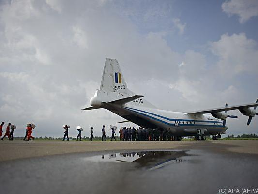 Bei dem Unglücksflugzeug handelte es sich um den Typ Shaanxi Y-8
