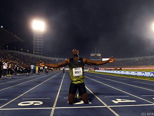 Jamaikas größter Leichtathlet verabschiedete sich