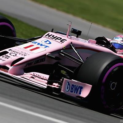 Der Mexikaner lenkt einen Force India