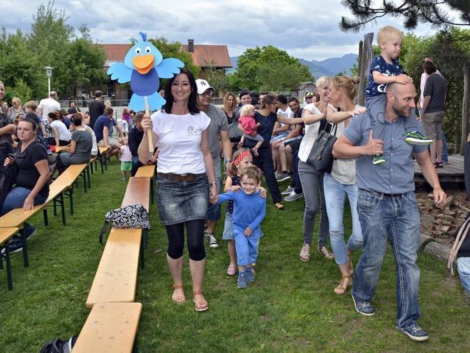 Familienfest im Kindergarten Meiningen