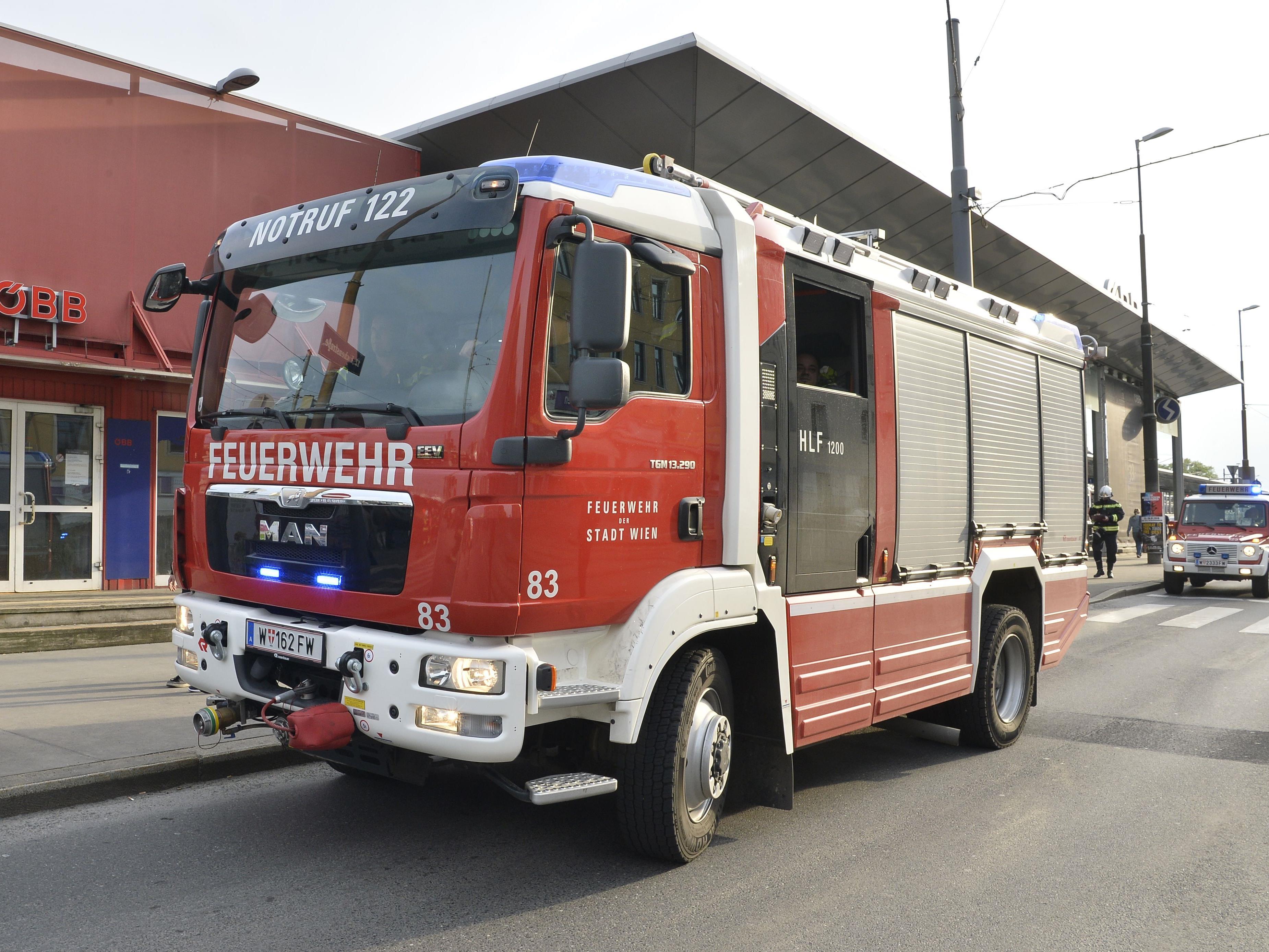 Im Bahnhof Wien-Meidling kam es am Mittwoch zu einem Kabelbrand.