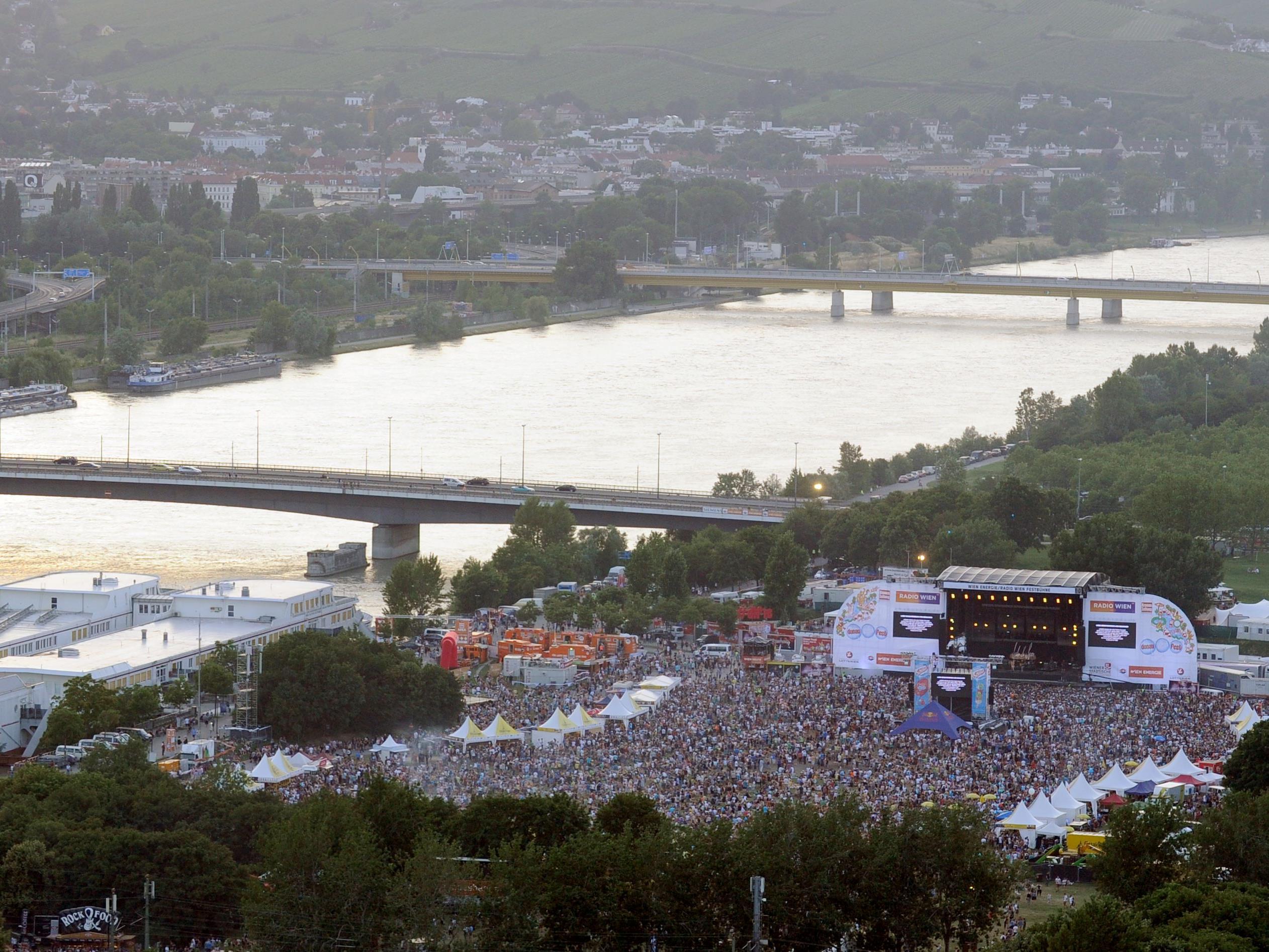Das 34. Donauinselfest beginnt.