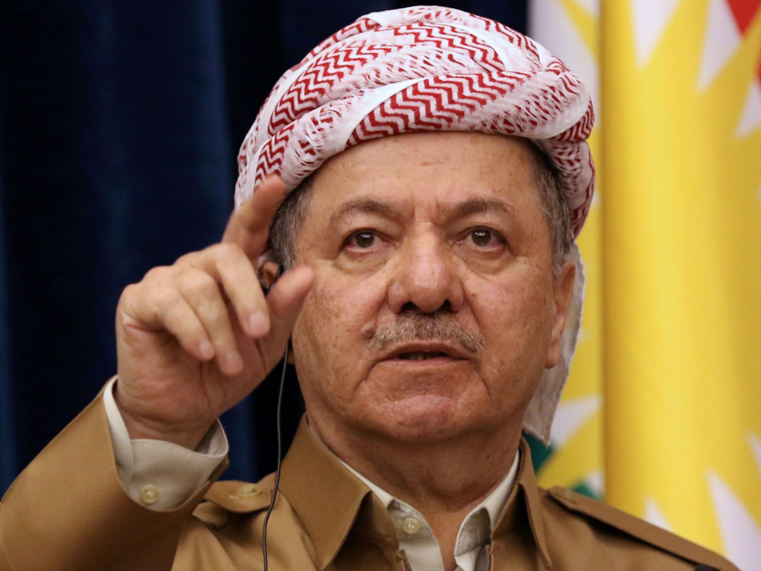 Der Anführer der irakischen Kurden, Massud Barzani.