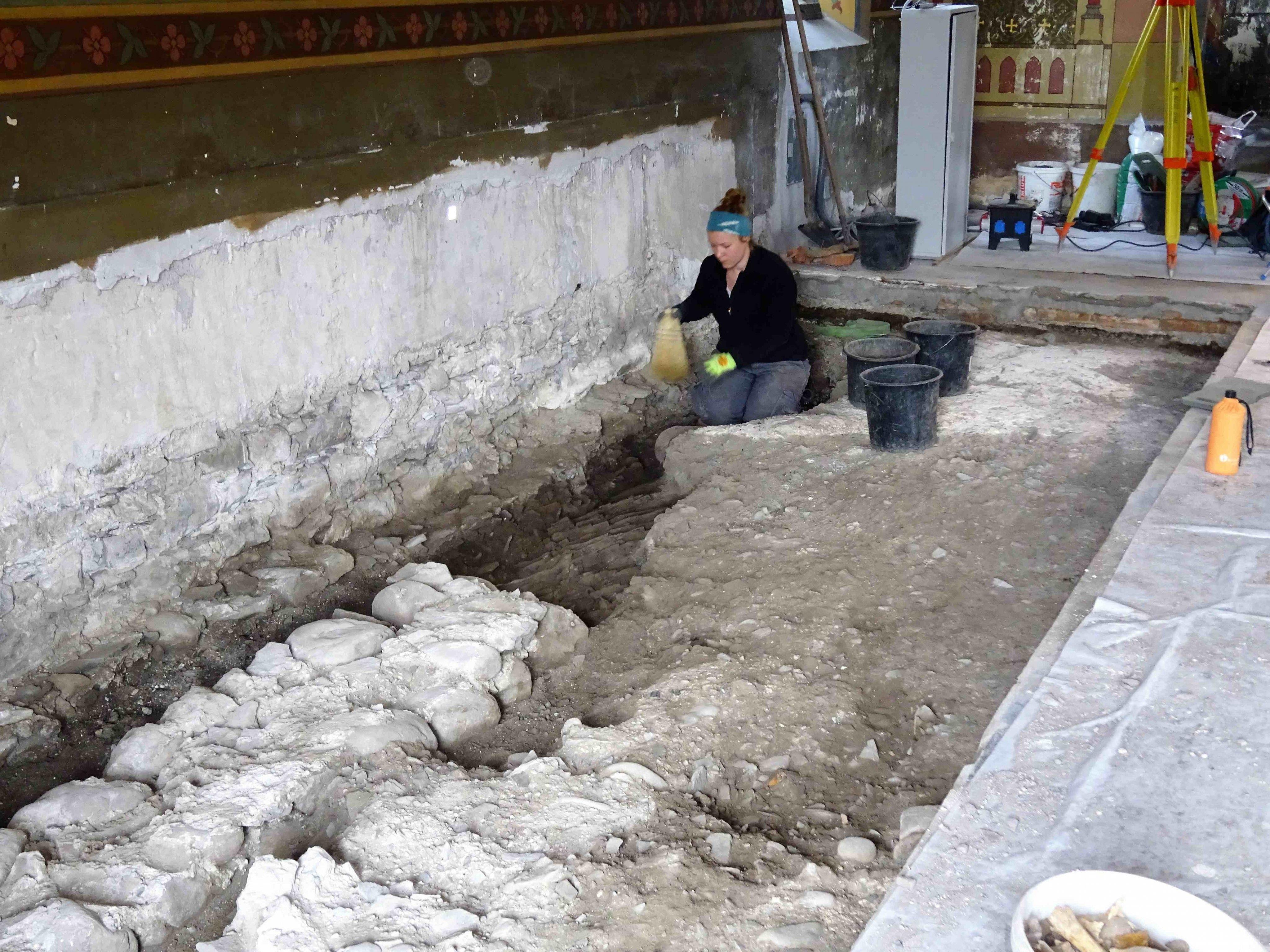 Ausgrabungen in St. Michael
