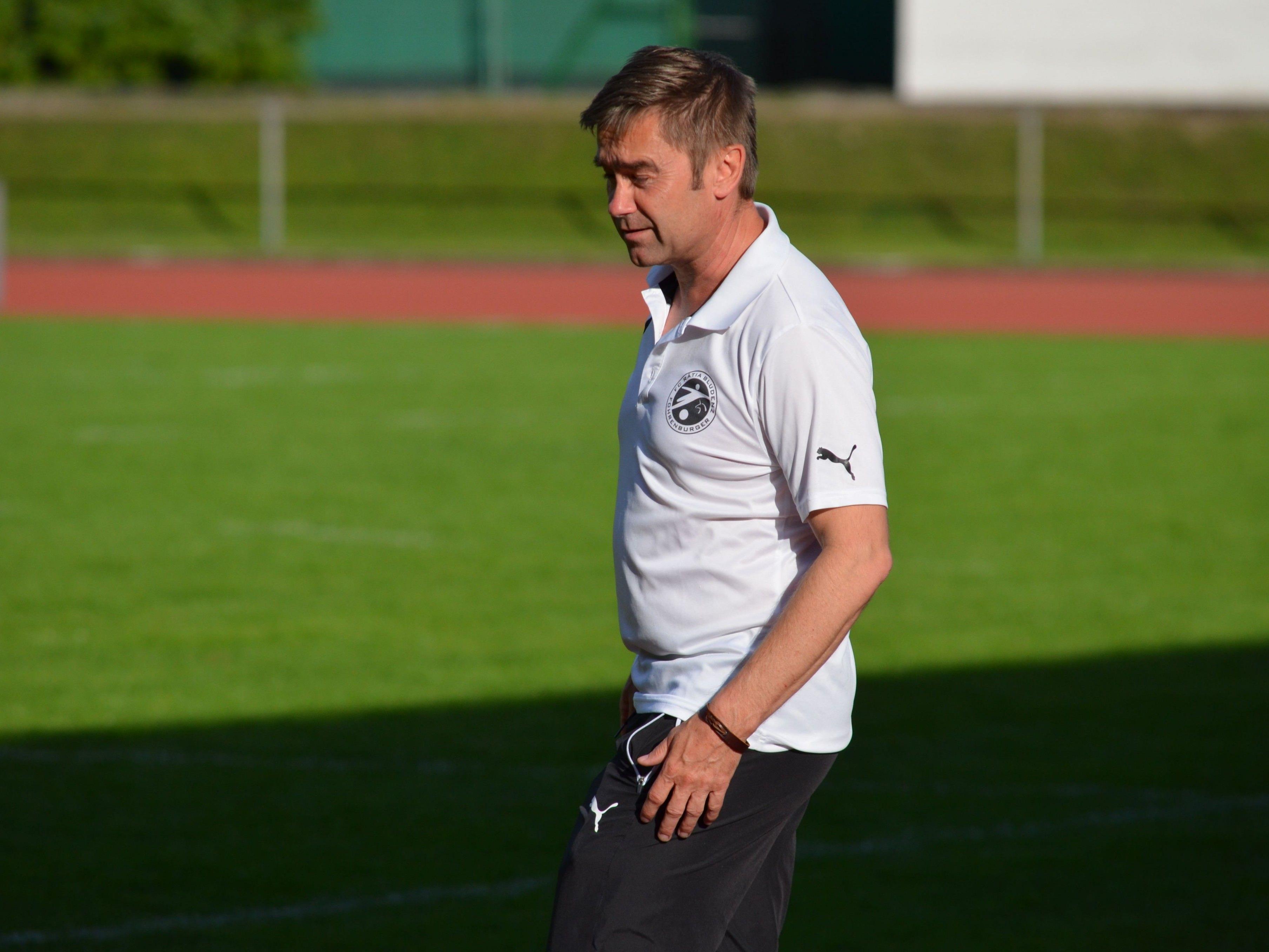 Bernd Langebner schaffte mit seinem Team den Klassenerhalt.