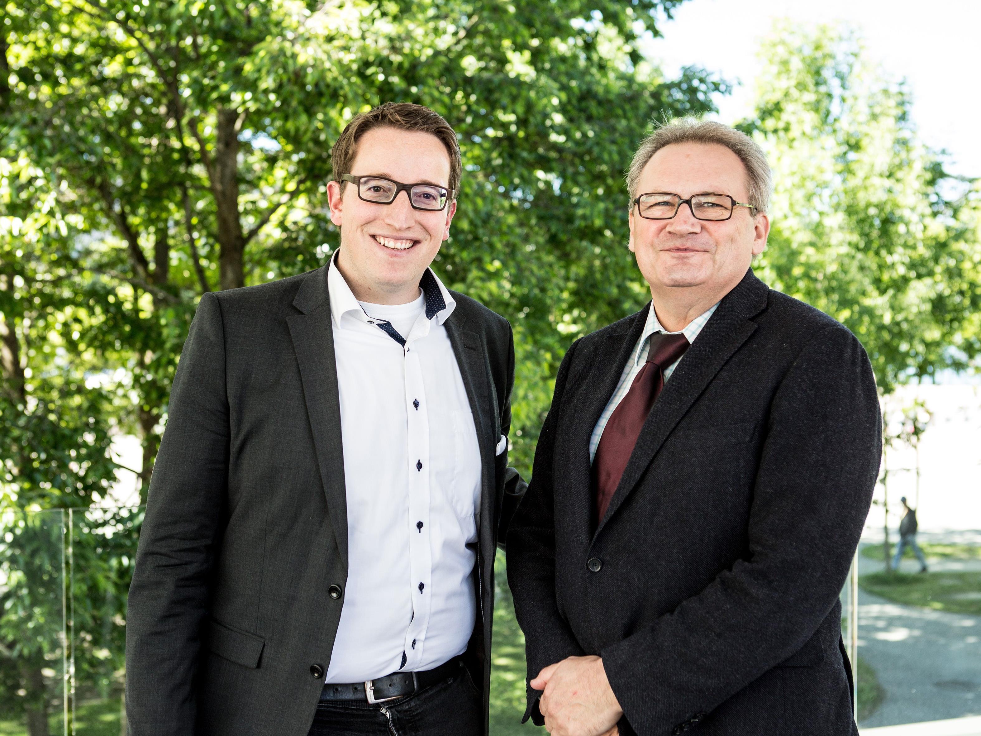 Geschäftsführer Urs Treuthardt und Präsident Karlheinz Hehle konnten sich bei der Jahreshauptversammlung von Bodensee-Vorarlberg Tourismus über einen erfolgreichen Start der digitalen Vermarktungsstrategie freuen.