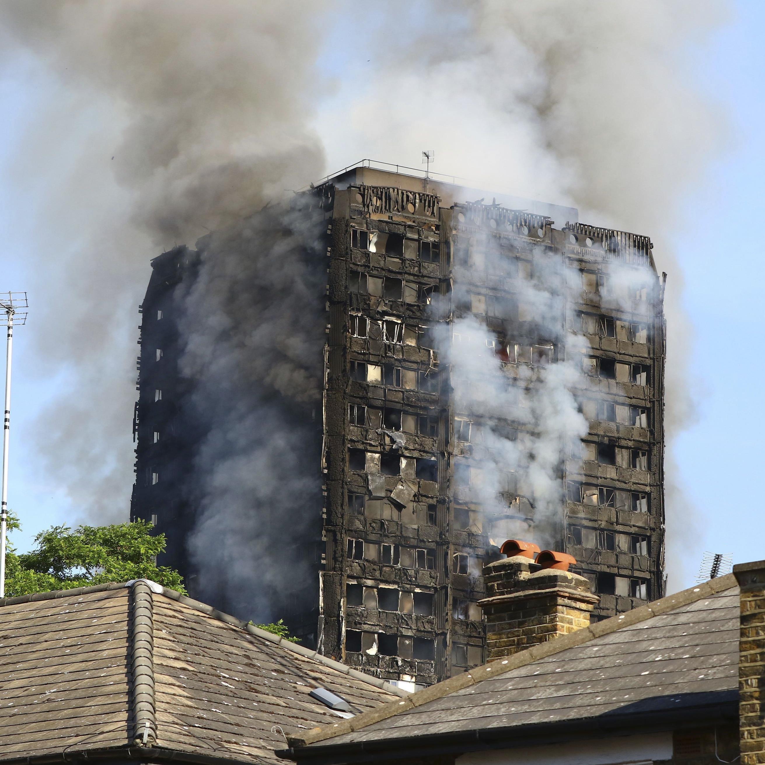 Nach dem verheerenden Brand in London schweben immer noch einige Opfer in Lebensgefahr.