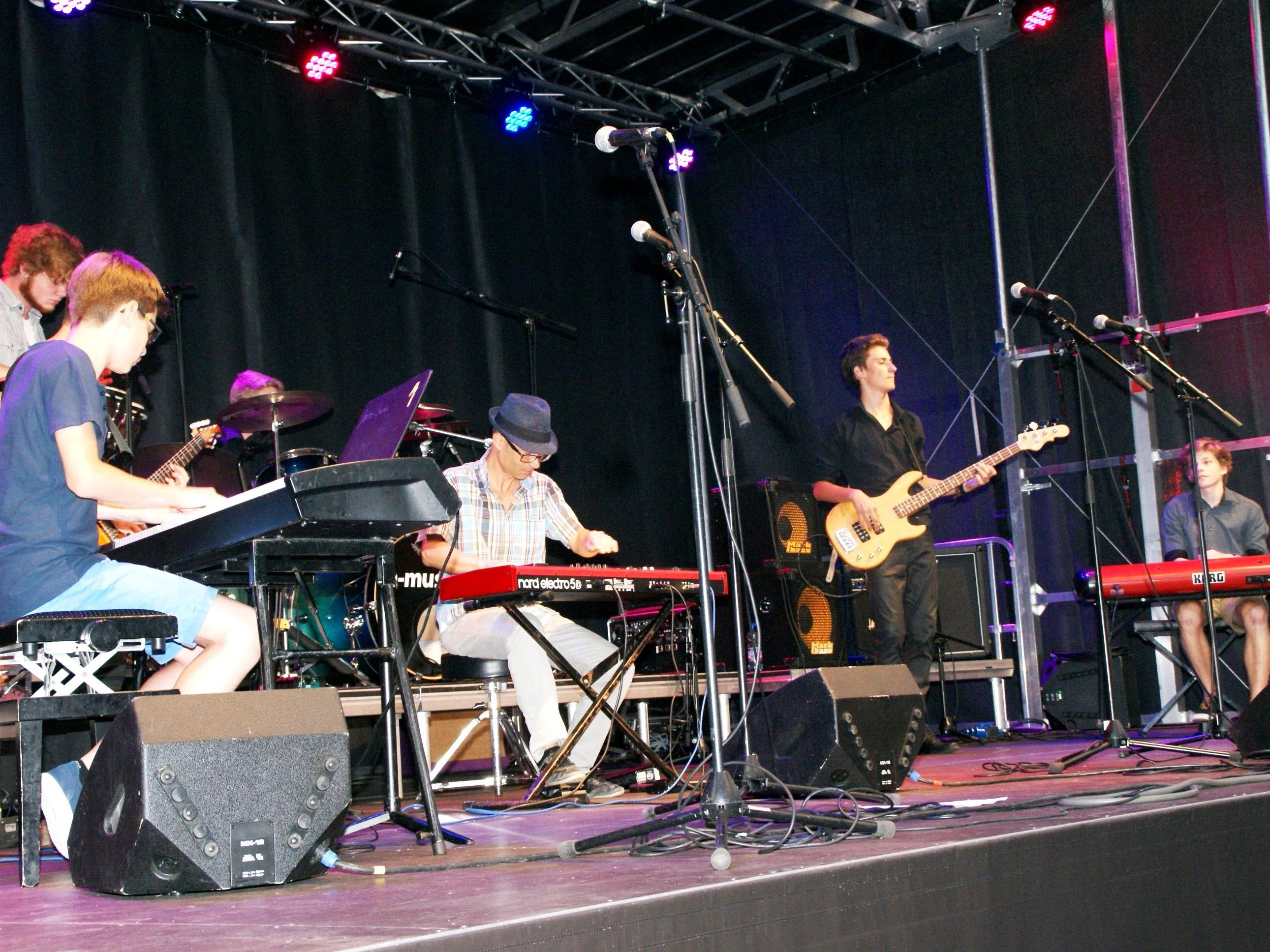 Die Rheintalische Musikschule präsentierte sich zum Auftakt der Sommer.Lust